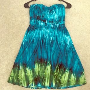 Trixxi tye-dye dress